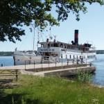Boot nach Waxholm