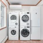 Klimaanlage / Reinigung. Waschmaschinen, Tumbler, Kühlschrank und Gefrierschrank