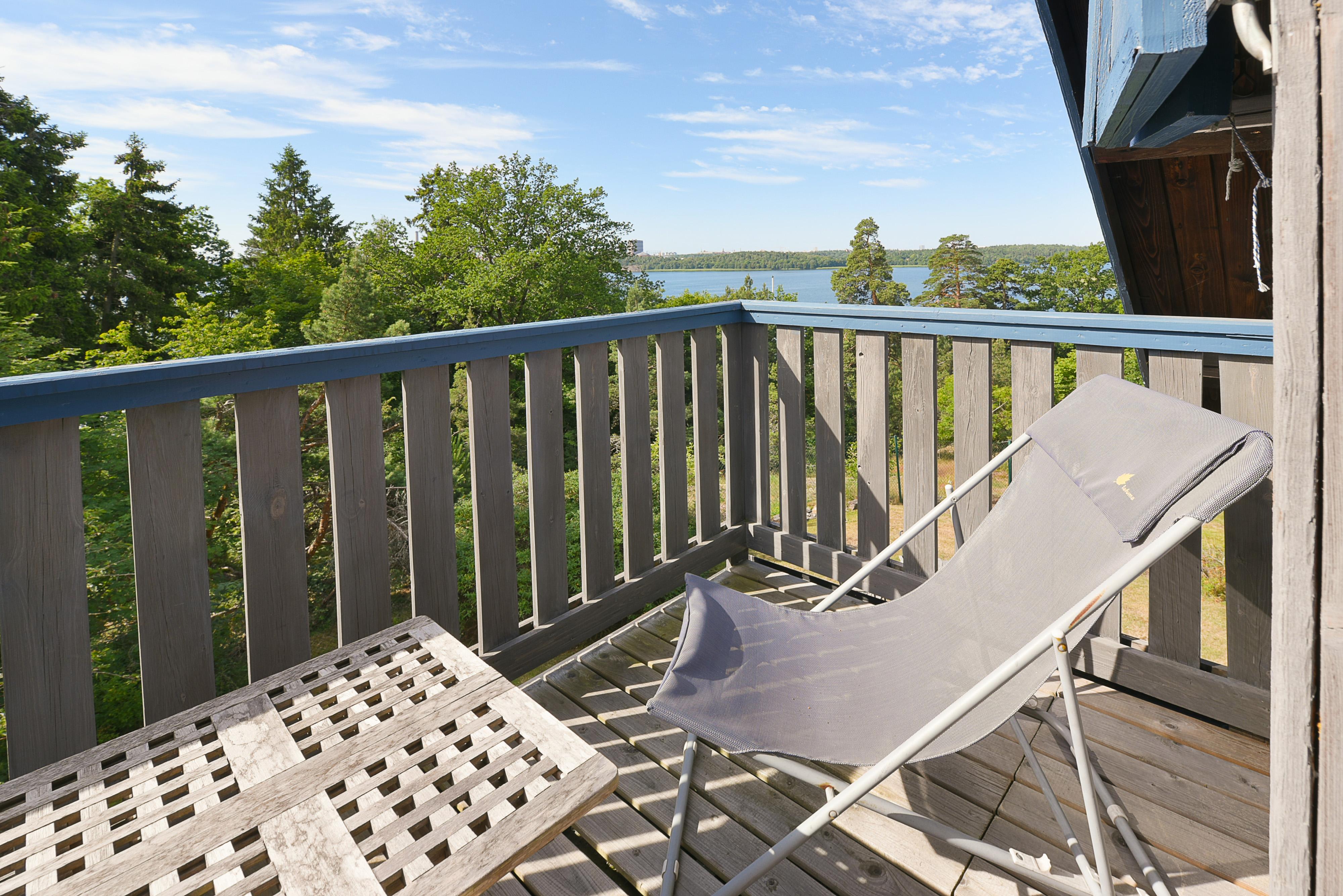Balkon In Verbindung Mit Dem Schlafzimmer