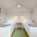 Raum 4 (Studio) mit 2 Einzelbetten (90x200 cm) ohne WC